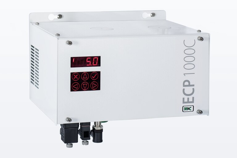 Oblique view of Peltier Gas Coooler ECP1000C