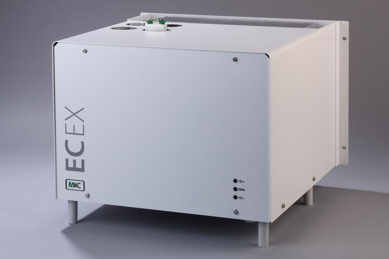 Oblique view of Compressor Gas Cooler ECEX-1PV