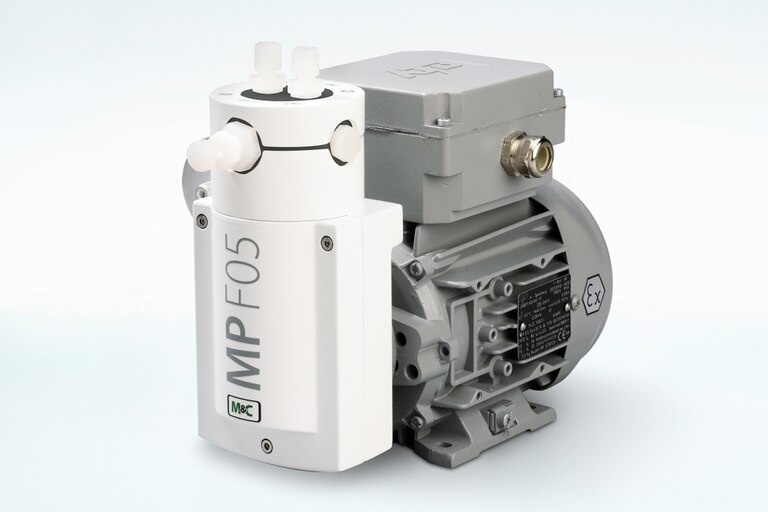 Oblique view of Bellows Pump MP-F05/R/EX