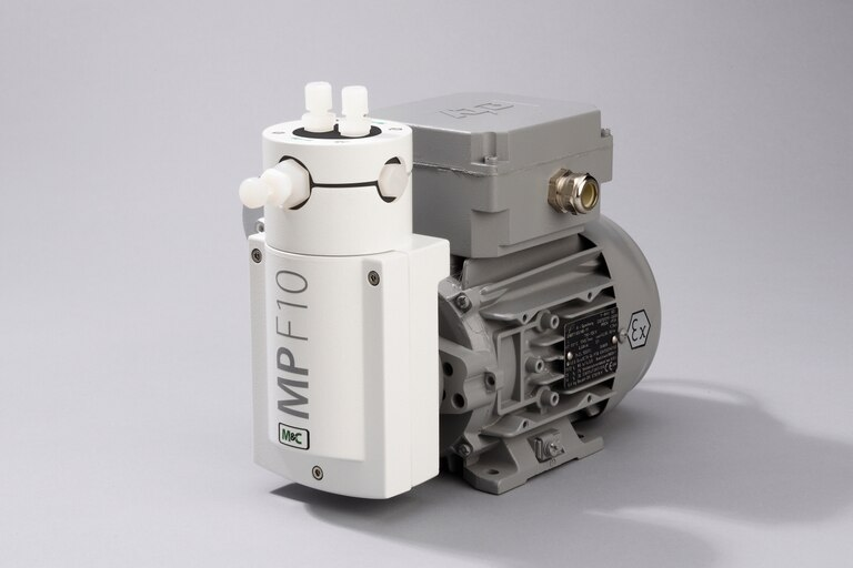Oblique view of Bellows Pump MP-F10/R/EX