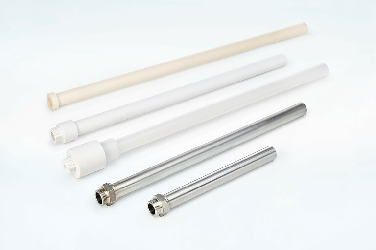 Group overview of different Gas Sample Tubes